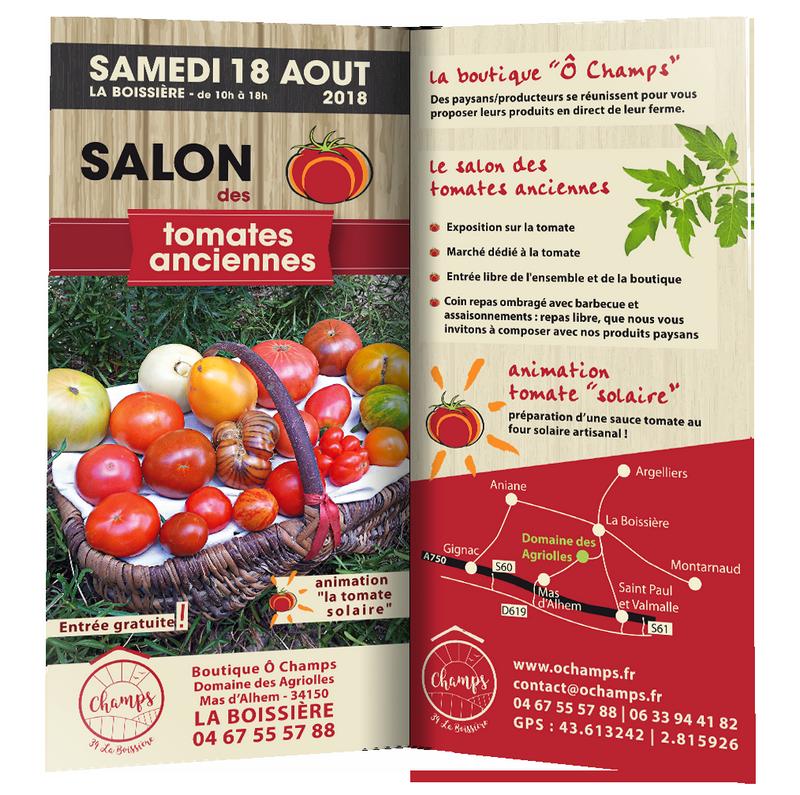 Salon des tomates anciennes 2018